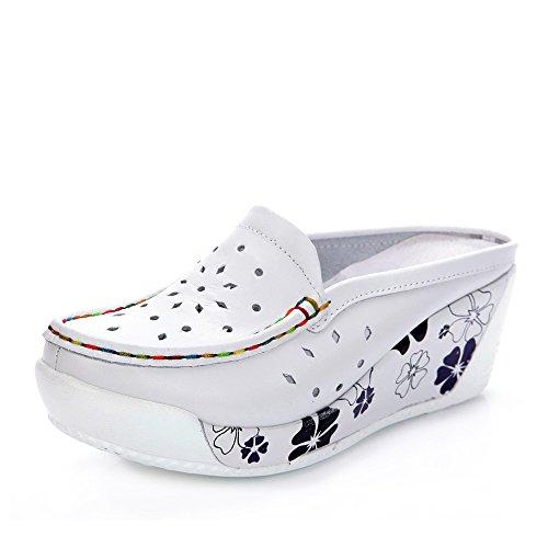 Blanc EU36 Couleur UK3 femmes pour Bleu chaussures Blanc CN35 taille femmes Chaussures cm 5 5 femme Pour 5 Chaussures été respirant HAIZHEN décontractées Bleu H7qaxRAwx