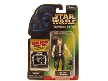 Star Wars the Power of the Force Han Solo, Verde Cartas ...