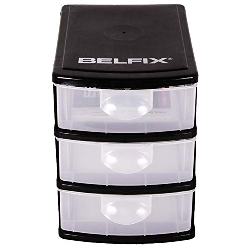 Caixa Organizadora 6 Gavetas Plásticas Modular Bel Fix 158100x2
