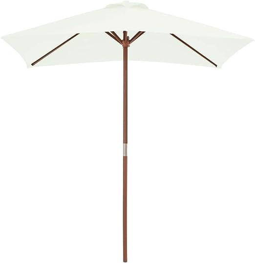 tidyard Sombrilla de Jardín con 6 Varillas Garden Parasol Parasol ...