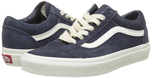 Vans Vieux Skool Hommes Sneakers Bleu Bleu