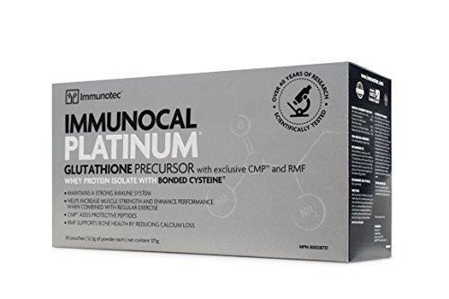 HMS-90 Immunocal Platinum (30packs) HMS 90 Brand: Immunocal, 0.44 oz Each