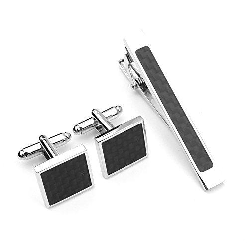 Libing Juego de mancuernas para hombres con clip de corbata, Foto: Amazon.es: Joyería