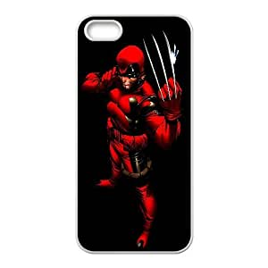 Wolverine Comic iPhone5s Cell Phone Case White gift pp001_9442700