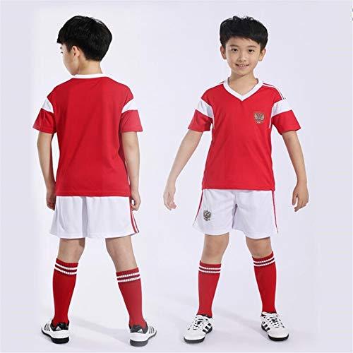 53d065763 Sykdybz Russian Jersey Children s Soccer Clothing Suit 2018 Fans  Commemorate Football Clothes Primary School Boys and Girls Gifts