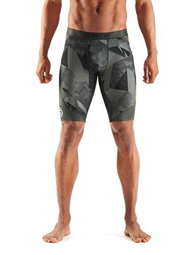 SKINS Mens DNAmic Mens Compression Half Tights/Shorts