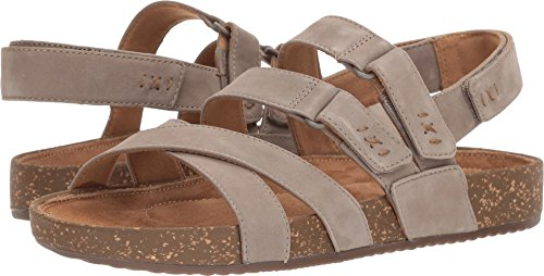 CLARKS Rosilla Keene Sandal - Women's Sage Nubuck, (Clarks Un Loop Footwear)