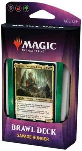 MTG Savage Hunger Brawl Deck Throne of Eldraine Magic the Gathering Sealed