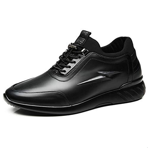 Para Tamaño Tacón Negro Shoes Zapatos Comfort Oculto Sole Sliip Con 40 color Deportivos Rojo Qiusa Hombre Eu No Durable Soft wHXanxqn