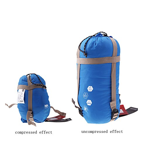EverTrust(TM)NEW Portable Mini Multifuntion Ultra Light Envelope Outdoor Sleeping Bag Camping Travel Hiking Cotton Bag 700g