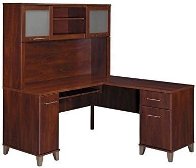 Bush Furniture Somerset 60″ L-Shape Computer Desk