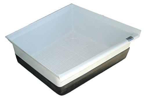 (ICON Shower Pan SP200, Polar White)