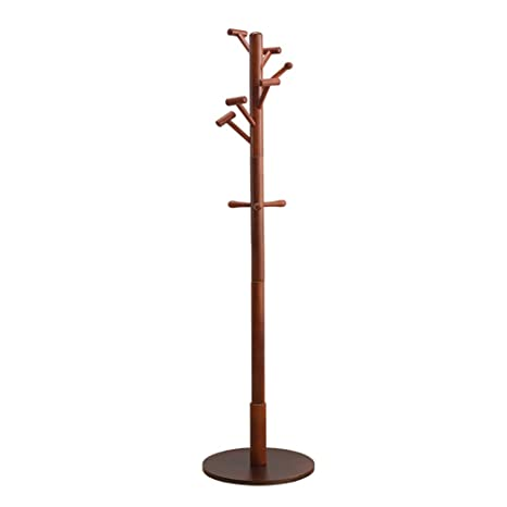 Amazon.com: LXF - Perchero de madera de pino para dormitorio ...