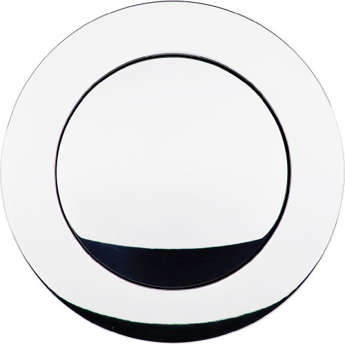 Billet Specialties 32125 Polished Large Smooth Horn Button