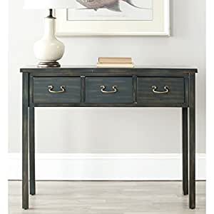 Safavieh American Homes Collection Cindy Console Table, Navy