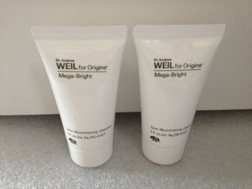 Lot of 2 Origins Dr. Andrew Weil for Origins® Mega-bright Skin Illluminating Cleanser 1 Oz X 2 Total 2 Oz by N/A