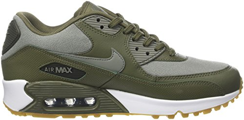 Dark Sequo Chaussures 205 39 Stucco Medium Femme de WMNS Gymnastique Noir Vert EU Air Prem Olive Max NIKE 90 qTZw4xX