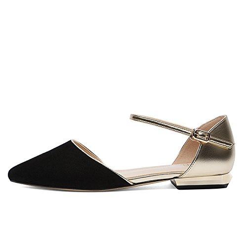 SHOESHAOGE Chaussures À Haut Talon Chaussures Femmes Sandales Métal Pointu Hasp Fendue Chaussures À Haut Talon EU33/UK1.72 X1AwIKqCN4