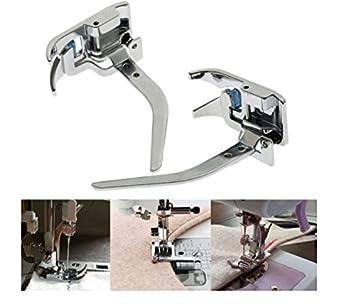 Shopidea - 1 prensatelas para máquina de coser para evitar la imitación de la tela, tejido fino y elástico: Amazon.es: Hogar
