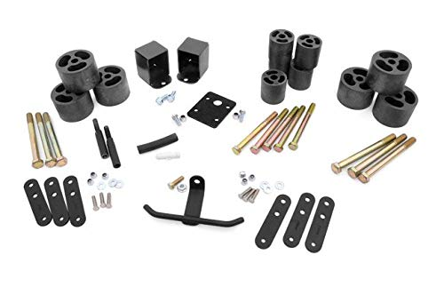 Rough Country - RC610-2-inch Body Lift Kit for Jeep: 87-95 Wrangler YJ 4WD ()