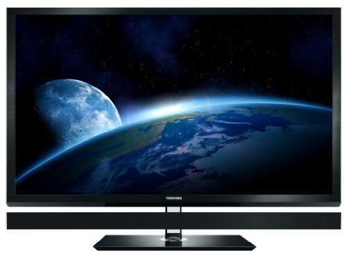 Toshiba Cevo 55ZL1G 140 cm (55 Zoll) 3D LED-Backlight-Fernseher (Full-HD, 800Hz AMR, DVB-T/-C/-S,  CI+) schwarz