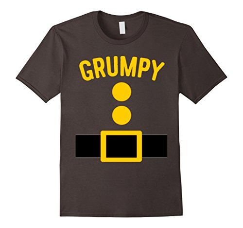 Mens Grumpy Dwarf Costume T-Shirt Funny Halloween Gift XL (The Seven Dwarfs Costumes)