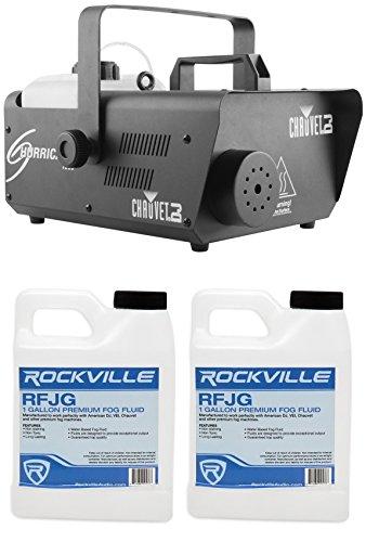 Chauvet DJ H1600 Hurricane 1600 DMX Fog Machine+Remote Timer -25,000 CFM + Fluid by Chauvet