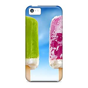 ZxvoHa3051 Colorful Ice Cream Fashion Tpu 5c Case Cover For Iphone