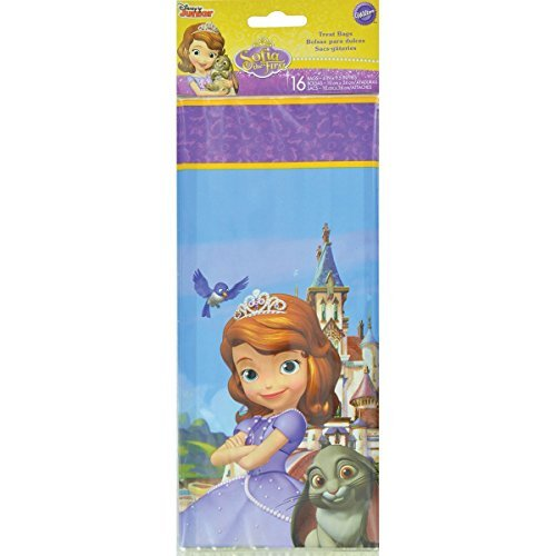 (Wilton Sofia the First Licensed Party Bags)