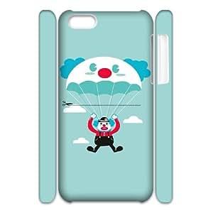 DIY iPhone 5C Case, Zyoux Custom High Qualtiy 3D iPhone 5C Shell Case -Parachute