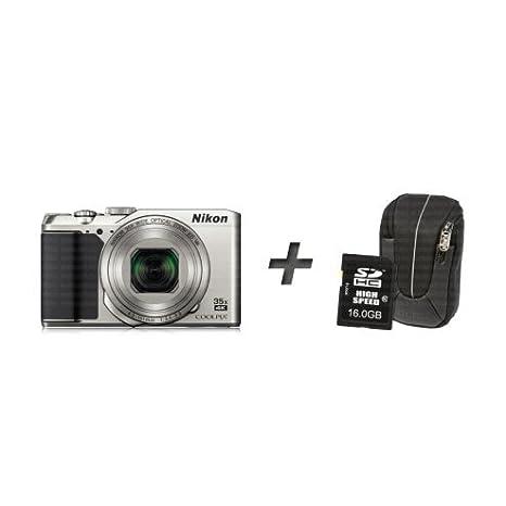Nikon Coolpix A900 + bolso + tarjeta de memoria - plata ...