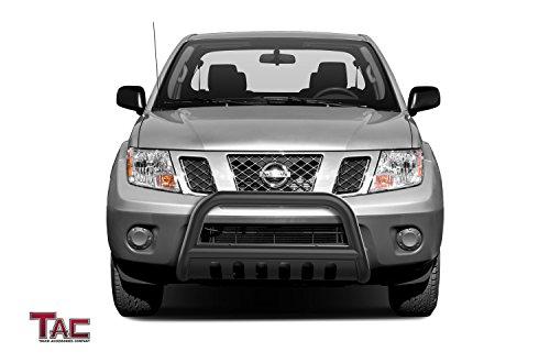 Tac 3 Bull Bar Fit 2005 2019 Nissan Frontier 2005 2015 Nissan Xterra 2005 2007 Nissan Pathfinder Black Front Bumper Grille Guard Brush Guard Tow