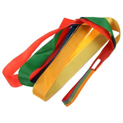 Mydio 12 Pack Rainbow Ribbon Rhythm Ribbon Dance For Kid's Dance Routines and Play,Set of 12 by Mydio (Image #6)