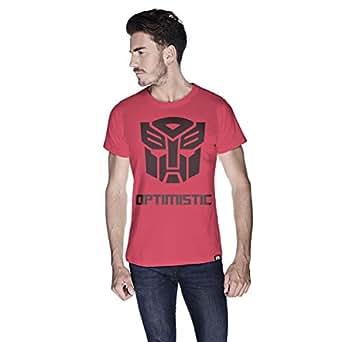 Creo Optimus T-Shirt For Men - S, Pink