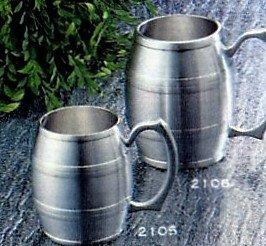 Engravable Pewter Barrel Beer Mug 17 oz ()