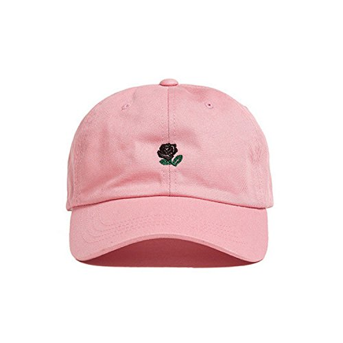 Unisex Dog Baseball Cap (Deer Mum Unisex Dog Embroidered Baseball Cap Adjustable Hat (Dog-Pink))