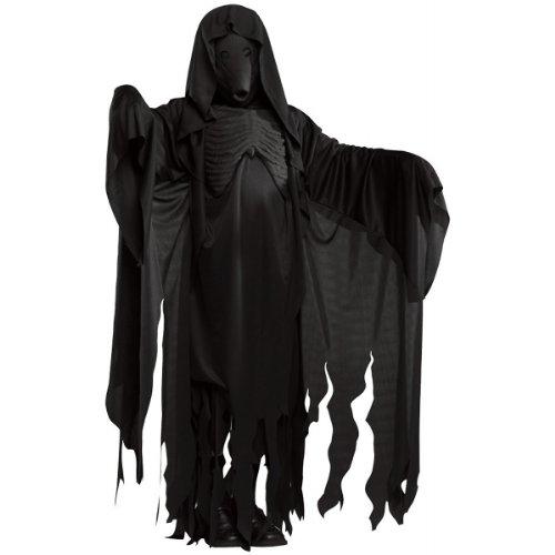 [Dementor Costume - Standard - Chest Size 46] (Harry Potter Dementor Fancy Dress Costume)