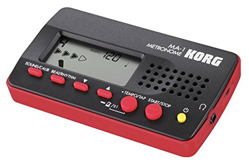 Price comparison product image Music Treasures Co. Digital Metronome (Red)