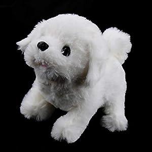 Fenteer Walking & Barking Interactive Puppy Dog Pet Toy Electronic Plush Animal Educational Gift for Kids Toddlers…