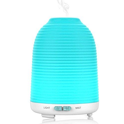 120ml Aroma Diffuser Aptoyu Ultraschall Luftbefeuchter Humidifier mit LED Farbwechsel für Yoga Spa Haus Büro Schlafzimmer