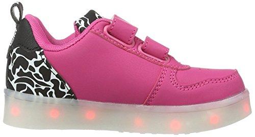 amp; d'intérieur Chaussons Mixte Wize Pink Led k07cam 07cam Ope Camo Enfant Rose AqgwHfOUn