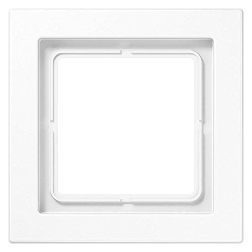 Jung ls-desing - Marco simple para montaje horizontal vertical blanco alpino LSD981WW