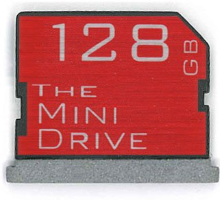 The MiniDrive | 128gb | For MacBook Retina 15'' (Pre 2014) | Flash Memory Expansion Module by TheMiniDrive.com