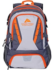 Ozark Trail 35L Choteau Daypack Backpack orange/grey