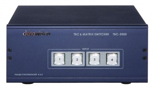 Datavideo TBC-5000 Time Base Corrector/Matrix Switcher by Datavideo