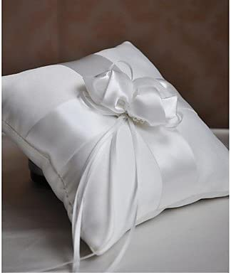 Anillo de almohada satén Vegas Tema/asiático Tema/Tema cuento con lazos: Amazon.es: Hogar