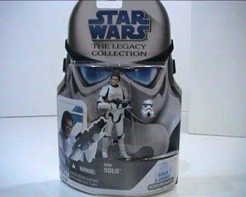 Star Wars Legacy Collection Build-A-Droid Factory Action Figure BD No. 31 Han Solo (Stormtrooper)