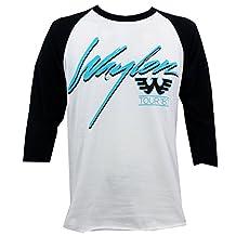 Waylon Jennings Men's Hangin Tough Raglan T-Shirt Grey