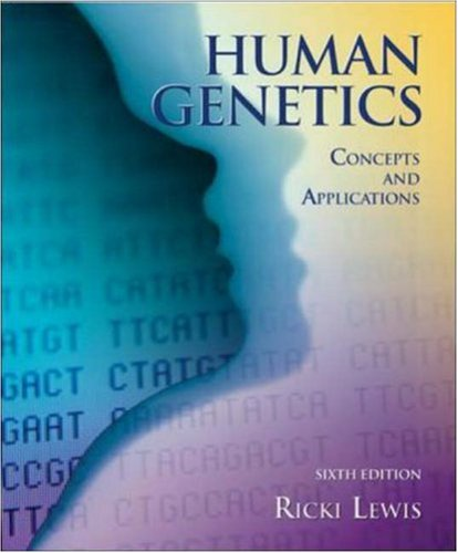 Human Genetics: Concepts and Applications w/ bound in OLC card