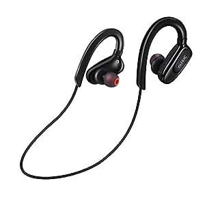 Auricular Bluetooth Deportivo, Cascos Bluetooth Running Correr Resistente al Sudor Deep Bass Inalámbrico Manos Libre Bluetooth 4.1 para IOS Android